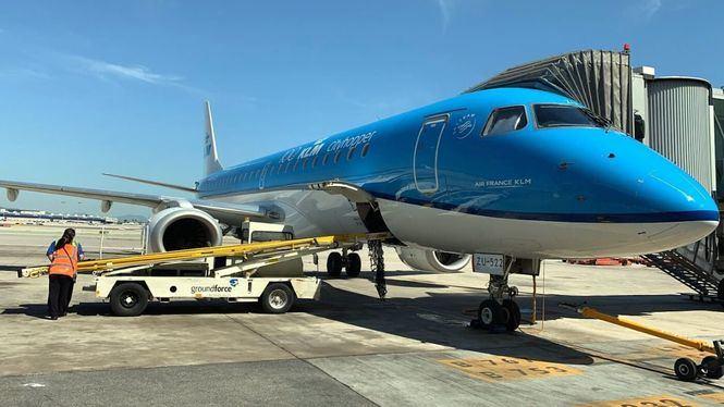 Reapertura de vuelos de KLM en 8 ciudades europeas, entre ellas Barcelona y Madrid