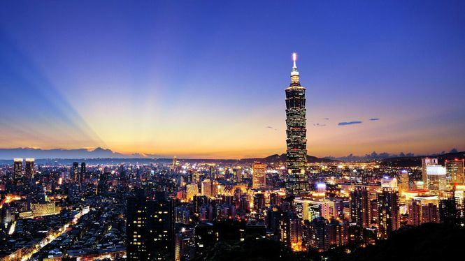 Taiwán vuelve a encender las luces del rascacielos Taipéi 101