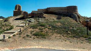Castell Vell; castillo almohade que se considera el origen de la actual Castellón