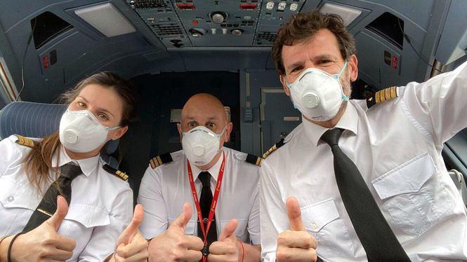 Iberia: Uso obligatorio de mascarillas en todos los vuelos