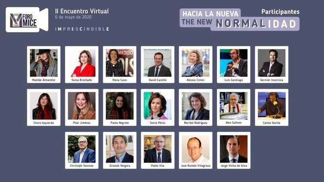 Más de 1000 personas acceden al segundo encuentro virtual del Foro MICE