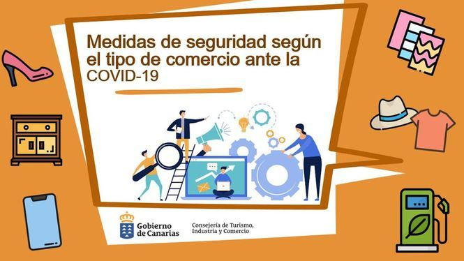 Medidas preventivas y de seguridad de Canarias para los negocios en la fase 1 de desescalada