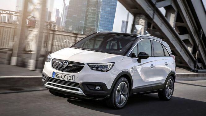 El vehículo más vendido en España en abril, el Opel Crossland X