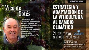 Curso gratuito que impartirá el Campus del Vino de Canarias