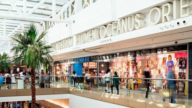 Reapertura de centros comerciales en Málaga