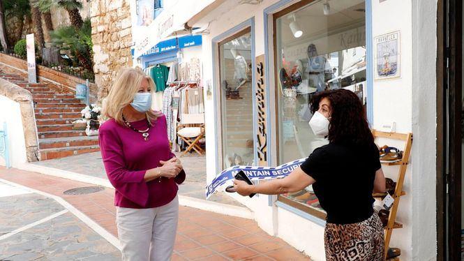 Marbella realizará labores de desinfección en los comercios minoristas