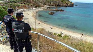 Las playas de Cartagena se abren al baño con normalidad en el inicio de la Fase 2