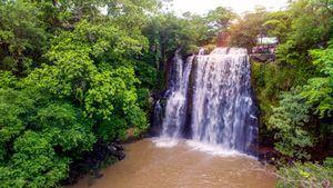 Costa Rica. Cataratas Llano Cortéz