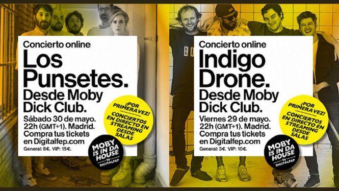 Este fin de semana se vuelve a subir el telón en Moby Dick Club en Madrid