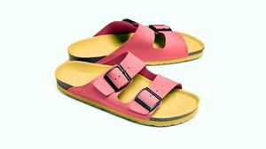 Las sandalias Pink de Schweppes