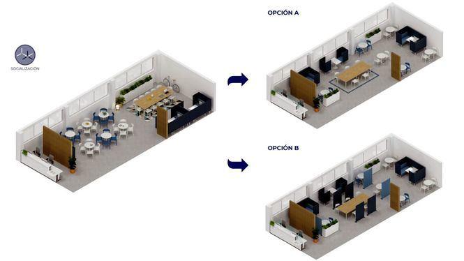 Los espacios comunes de las empresas, el gran reto en la vuelta a los entornos de trabajo
