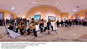 Cuadros sónicos: Vídeos 360º y música en ConectaThyssen