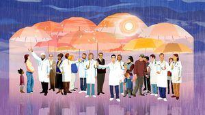 Homenaje gráfico en pequeñas píldoras para los héroes de la ciudad de Madrid