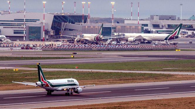 Alitalia reanuda los vuelos directos desde España a Italia