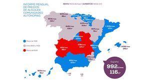 El precio de alquiler en Madrid sube frente al año pasado