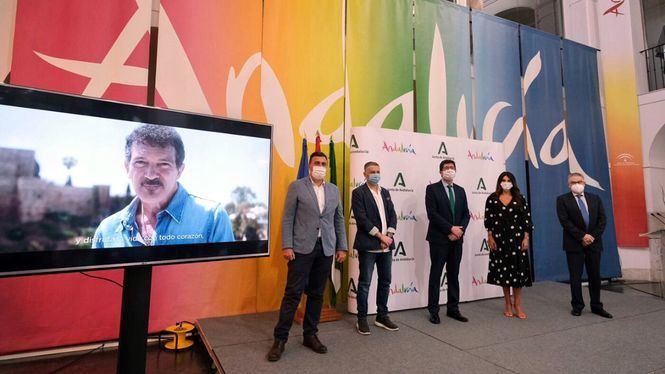 Campaña de promoción turística de Andalucía protagonizada por el actor Antonio Banderas