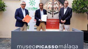 Canal Sur y el Museo Picasso Málaga renuevan su colaboración