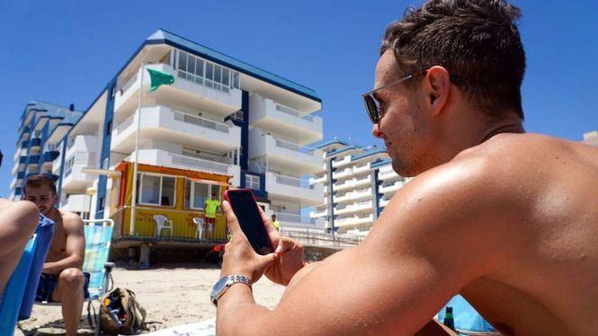 El aforo de las playas de Cartagena se puede saber en tiempo real con una aplicación web