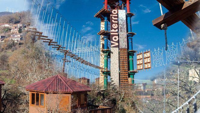 El parque multiaventura Valterria abre sus puertas en la provincia de Burgos