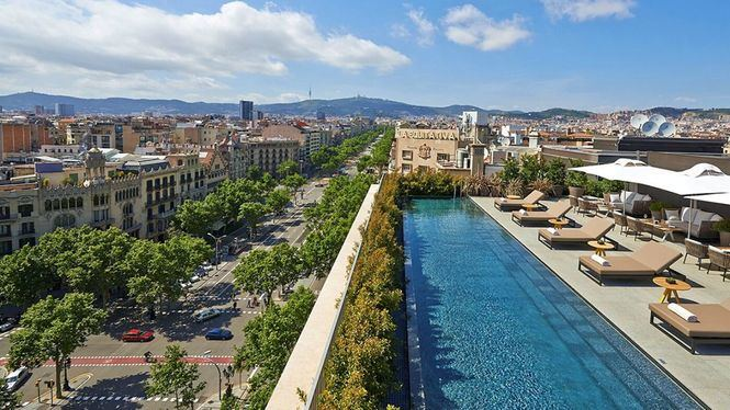 Abre Terrat, la terraza de Mandarin Oriental, Barcelona