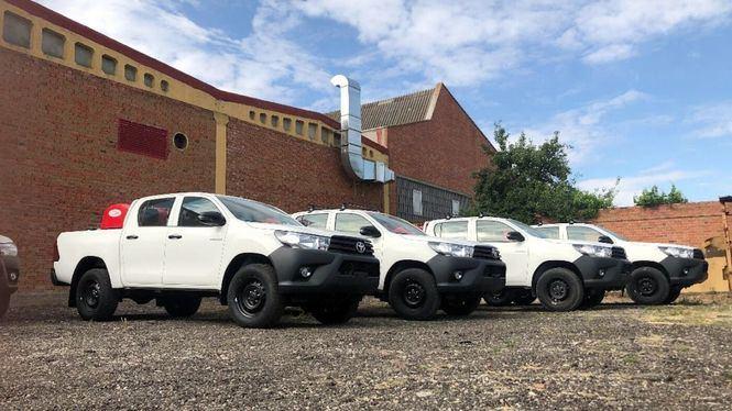 Alquiber ya tiene preparados los vehículos para evitar este verano incendios forestales