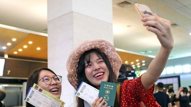 El eropuerto de Taipéi ofrece vuelos fingidos para revivir el interés por viajar