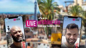 KLM y Withlocals organizan un tour virtual en directo con un guía local