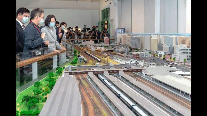 Nuevo museo dedicado a los ferrocarriles de Taiwán