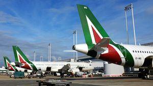 Programa de vuelos de Alitalia durante el mes el agosto