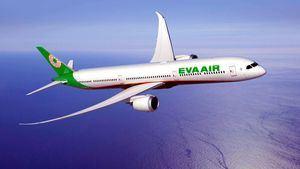 La aerolínea taiwanesa EVA Air elegida cuarta mejor aerolínea internacional del mundo