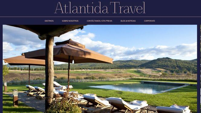 Nueva web de Atlantida Travel
