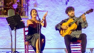Alba Molina y el Trío Mainake, este fin de semana en música en el Jardín del Picasso