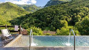 Apertura del hotel Tierra del Agua, un paraíso natural