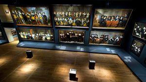 Galería de Retratos del siglo XVII en el Hermitage Amsterdam