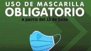 Desde el 13 de julio el uso de mascarilla es obligatorio en Murcia