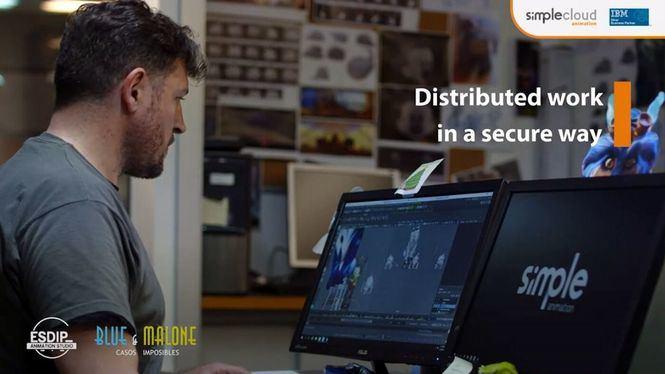 Blue & Malone, Casos Imposibles, la segunda parte del cortometraje de aventuras