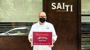 El restaurante Saiti recibe el premio al mejor menú Modo Valencia On