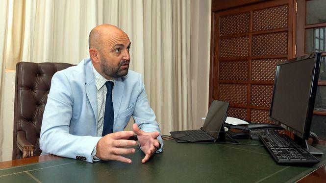Carlos Álamo Cabrera, consejero de Turismo de Gran Canaria