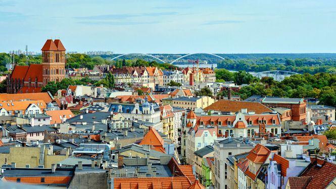 Torun, la ciudad gótica donde nació Nicolás Copérnico