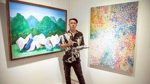 El artista español Álvaro Trugeda inaugura una exposición individual en Taipéi