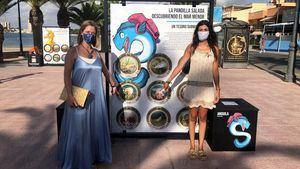 La exposición, La pandilla salada, descubriendo el Mar Menor, recorrerá las playas de Cartagena