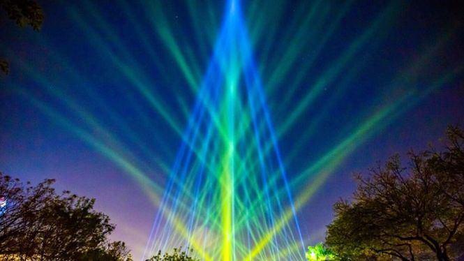 Espectáculo de luces en Kaohsiung premio de Diseño Red Dot