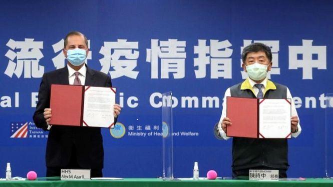 Primer memorando de entendimiento sobre cooperación sanitaria entre Taiwán y Estados Unidos