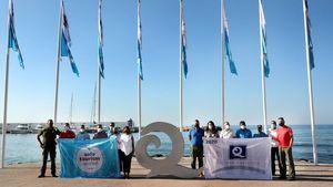 Nueve playas de Marbella logran la Q de calidad turística y el certificado Safe Tourism