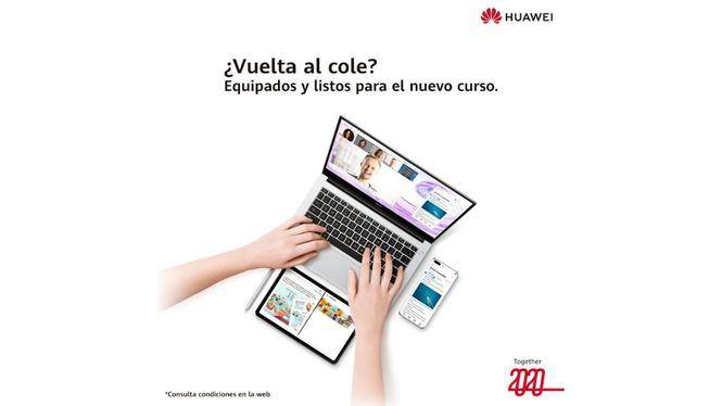 La vuelta al cole de mano de Huawei