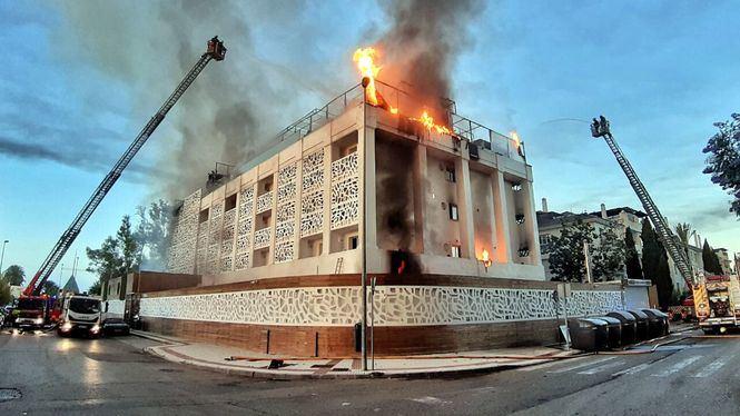 Extinguido el incendio del Hotel Sisu de Marbella