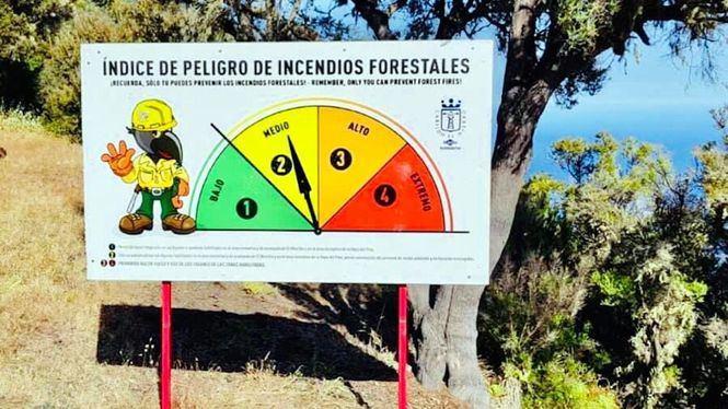 Medidas preventivas en El Hierro por alerta Máxima de Incendios Forestales