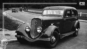 Peugeot cumple 210 años