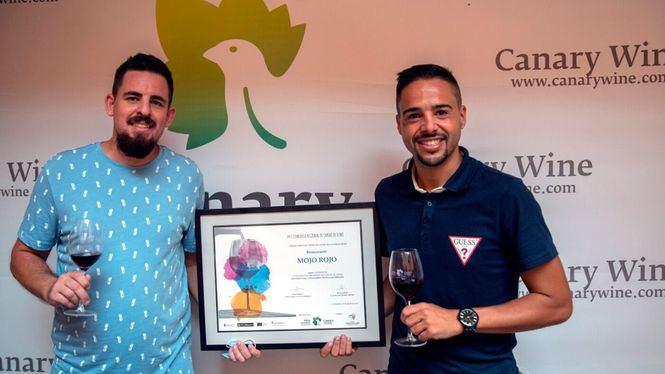 Mojo Rojo, gana el XVII Concurso Regional de Cartas de Vinos de Canarias