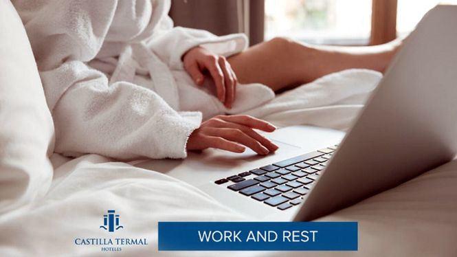 Work & Rest, la propuesta de Castilla Termal Hoteles para aprender a teletrabajar
